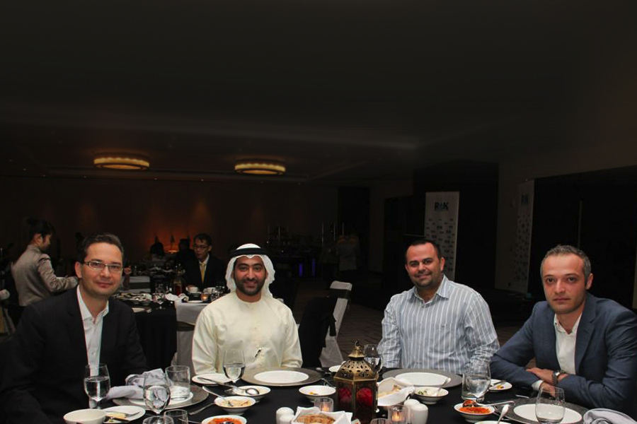 imgRAK FTZ Business Networking Iftar at JW Marriott Marquis Hotel on July 2014.