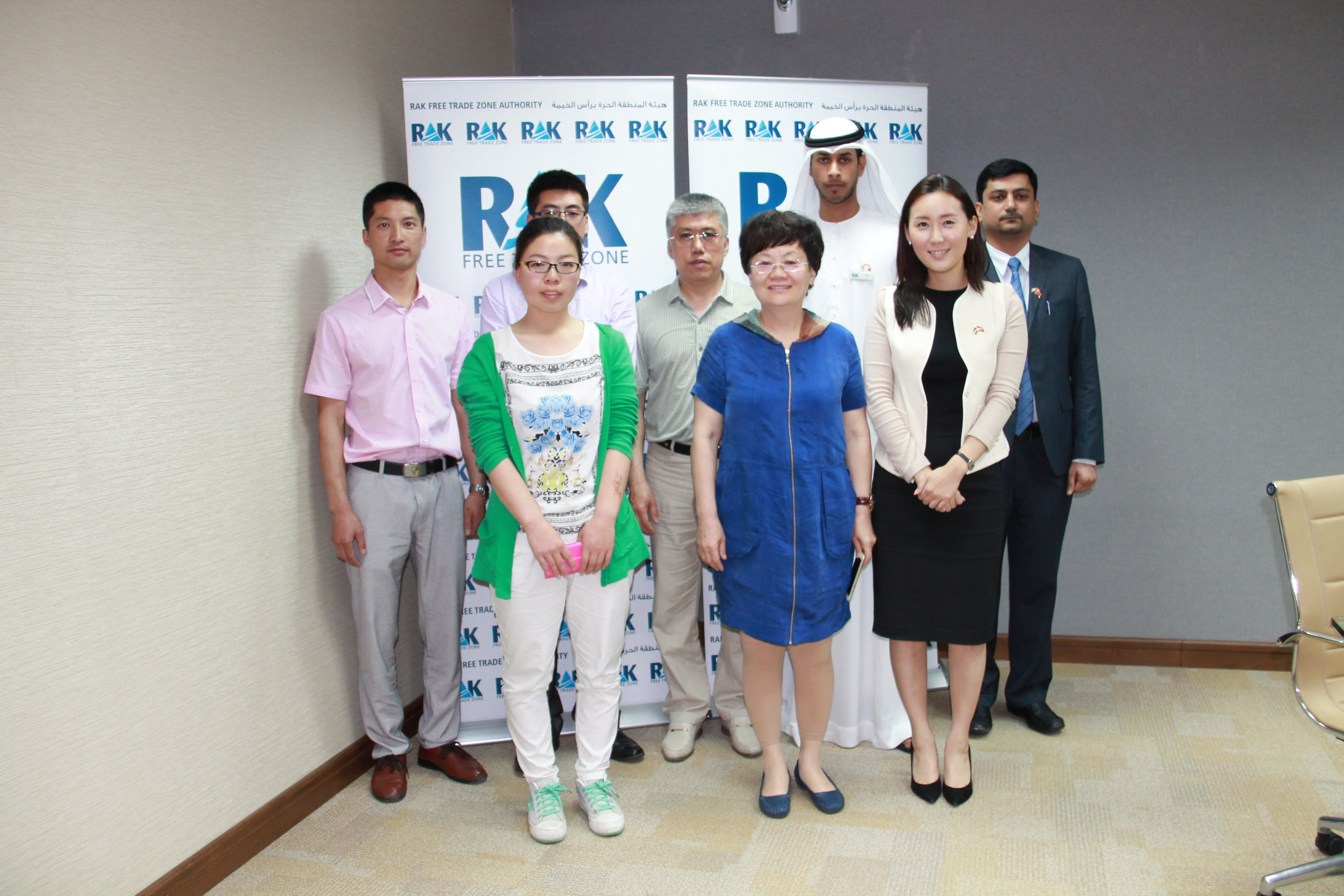 imgA Chinese delegation visited RAK FTZ headquarters to explore business opportunities