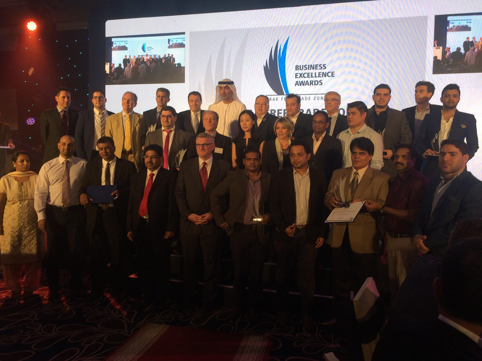 imgThe 2nd Annual RAK FTZ Business Excellence Awards held at Rixos Bab Al Bahr