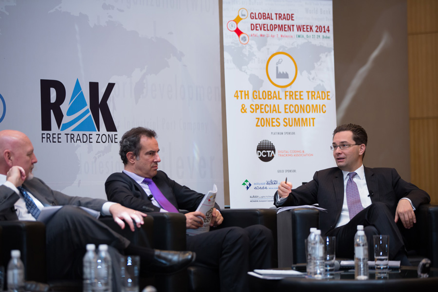 imgPeter Fort, CEO of RAK FTZ, participated in the 4th Global Free Trade Summit.