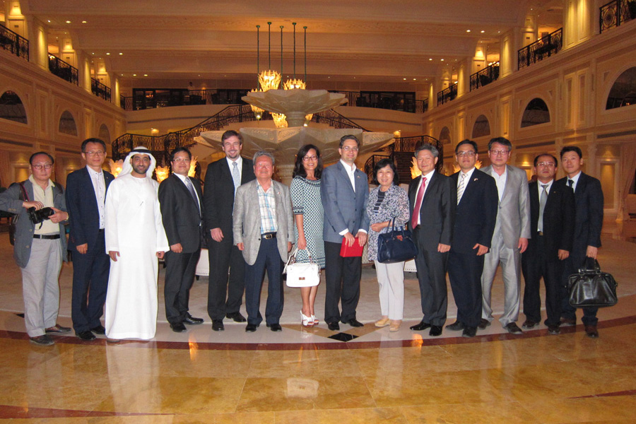 imgThe The South Korean delegation visited the emirate