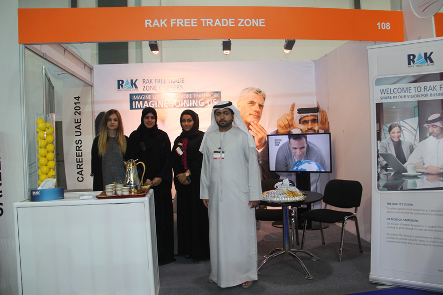 imgThe Ras Al Khaimah Free Trade Zone takes part in the Careers UAE Exhibition 2014 in Dubai