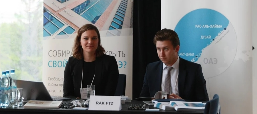 RAK FTZ attracts Russian investors at two of the biggest business conferences in Russia